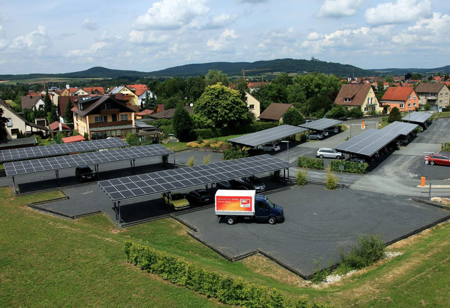 Solar power for e-mobility